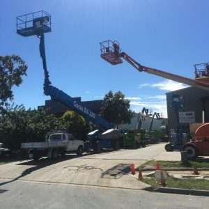 ewp hire with qld access's largest boom lift in Queensland